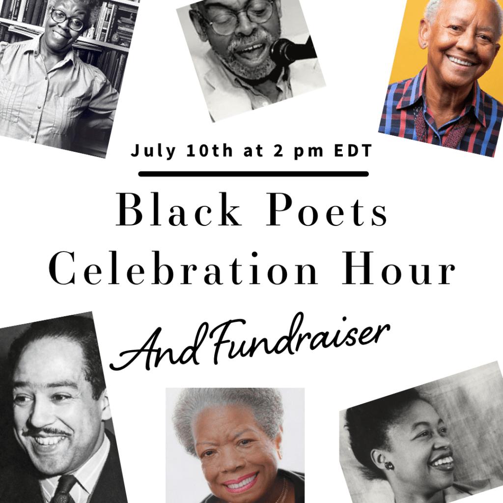 Black Poets Celebration Hour & Fundraiser