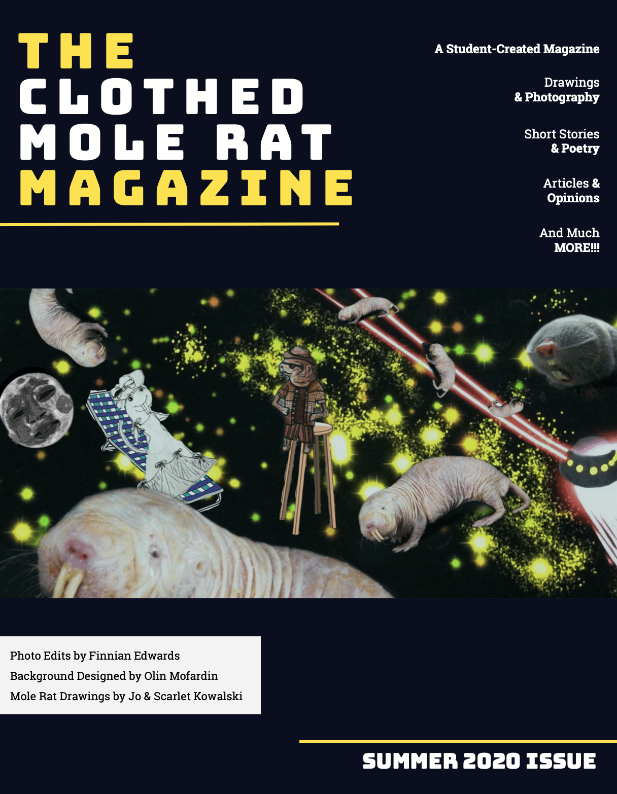 The Clothed Mole Rat Summer 2020 Issue