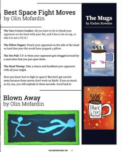 The Clothed Mole Rat Magazine - Student Magazine