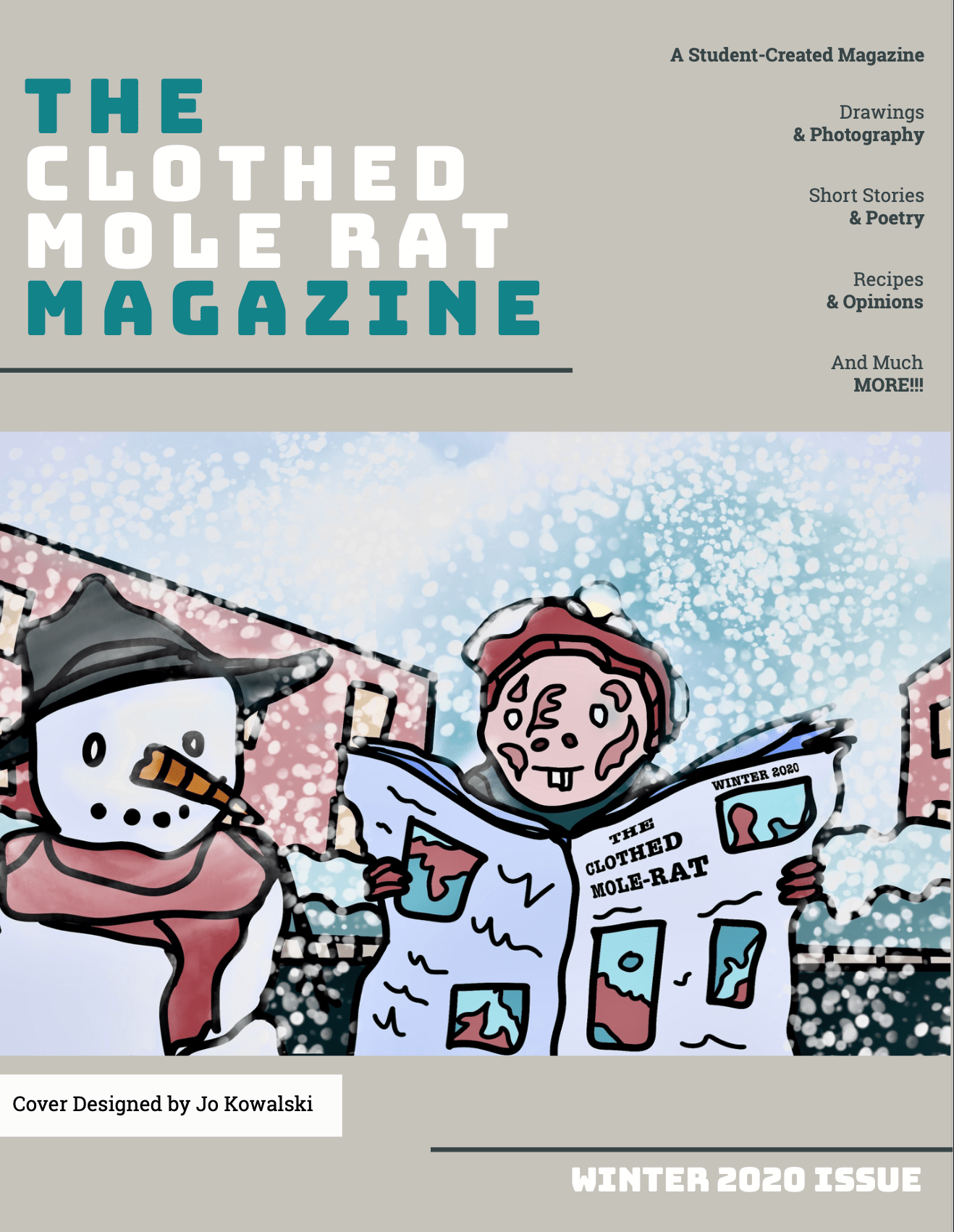 The Clothed Mole Rat - Winter 2020 Issue