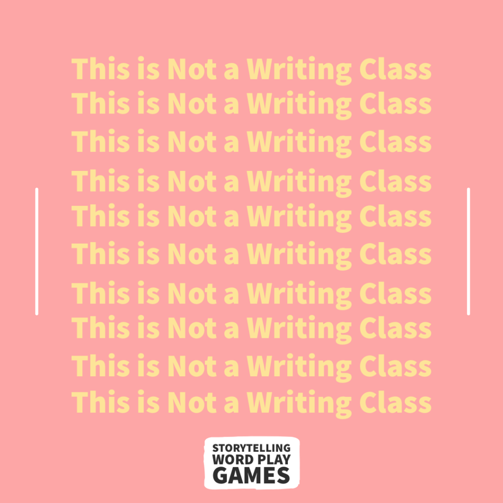 This is Not a Writing Class