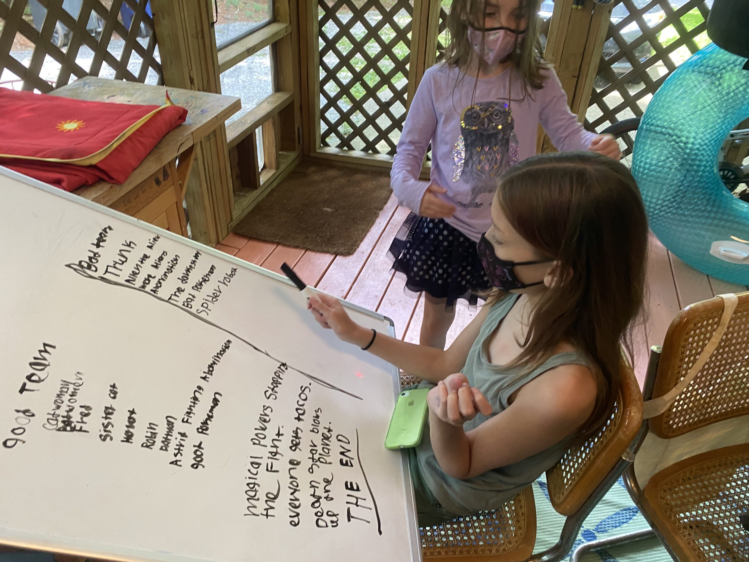 Creative Writing Session - Kids Write with Crystal